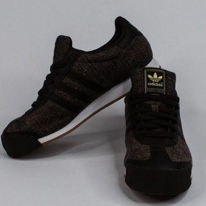 Adidas Samoa Brown Textile Gold Rare Edition